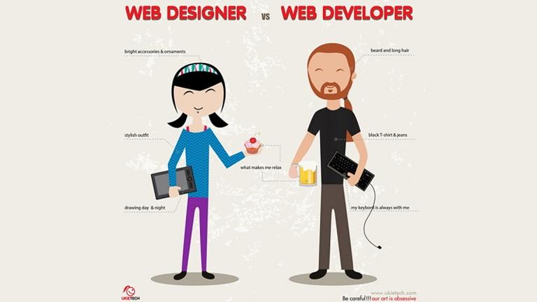 Web Designers Vs Web Developers (2015)