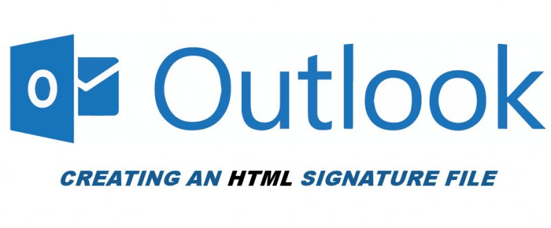 Creating an HTML Signature in Outlook 365