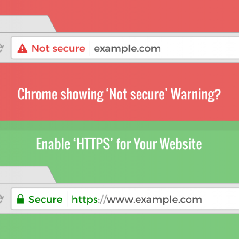 Why Does My Website Say 'Not Secure' at the Top?